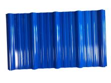 蓝色塑料瓦
