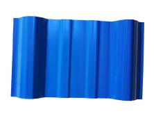 蓝色梯形波瓦