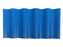 PVC蓝色小圆波瓦