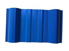 蓝色PVC瓦